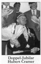 Doppel-Jubilar Hubert Cramer